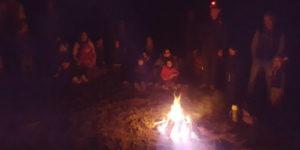 Matariki bonfire