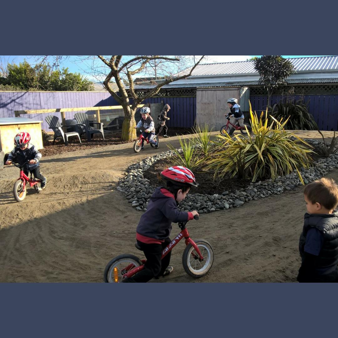 Seymour Kindergarten Bike Track