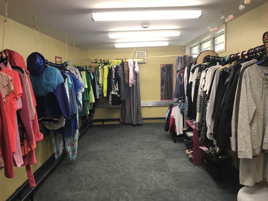 Thrift shop at MGC