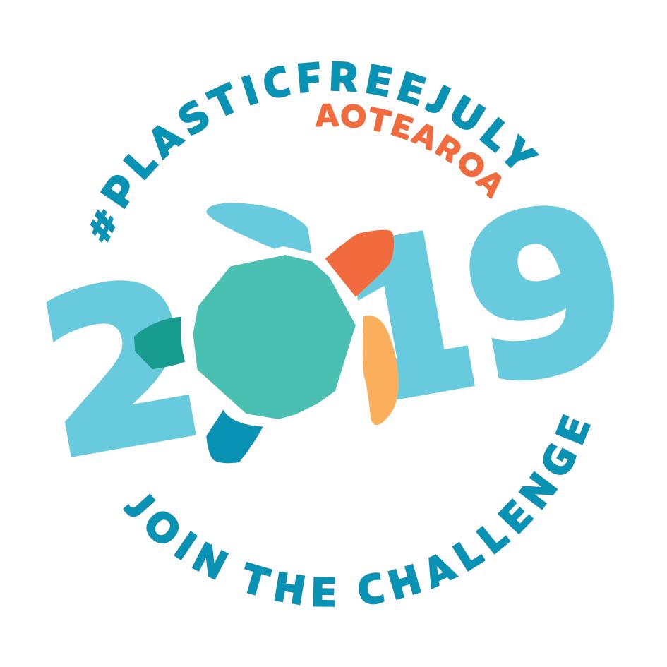 Plastic Free July badge