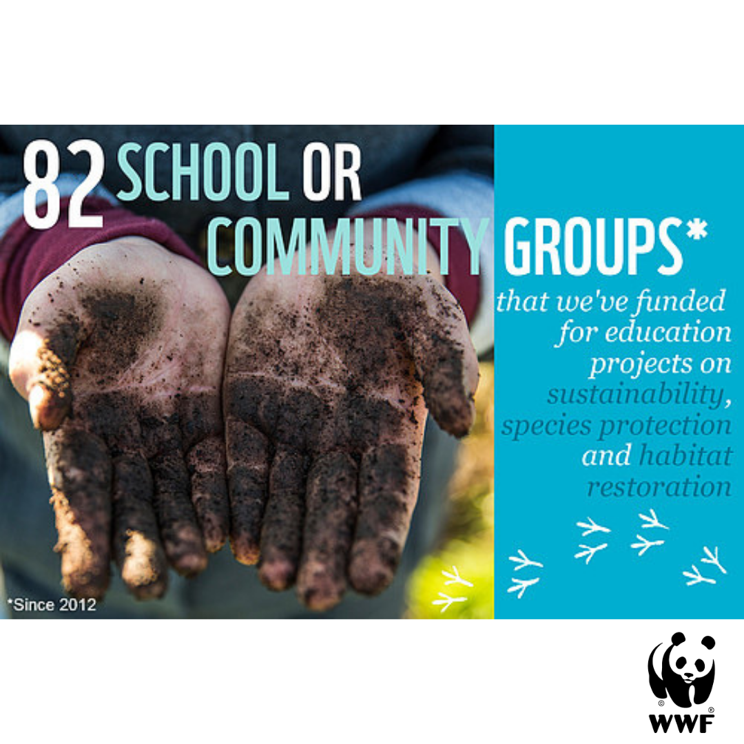 WWF environmental education action fund