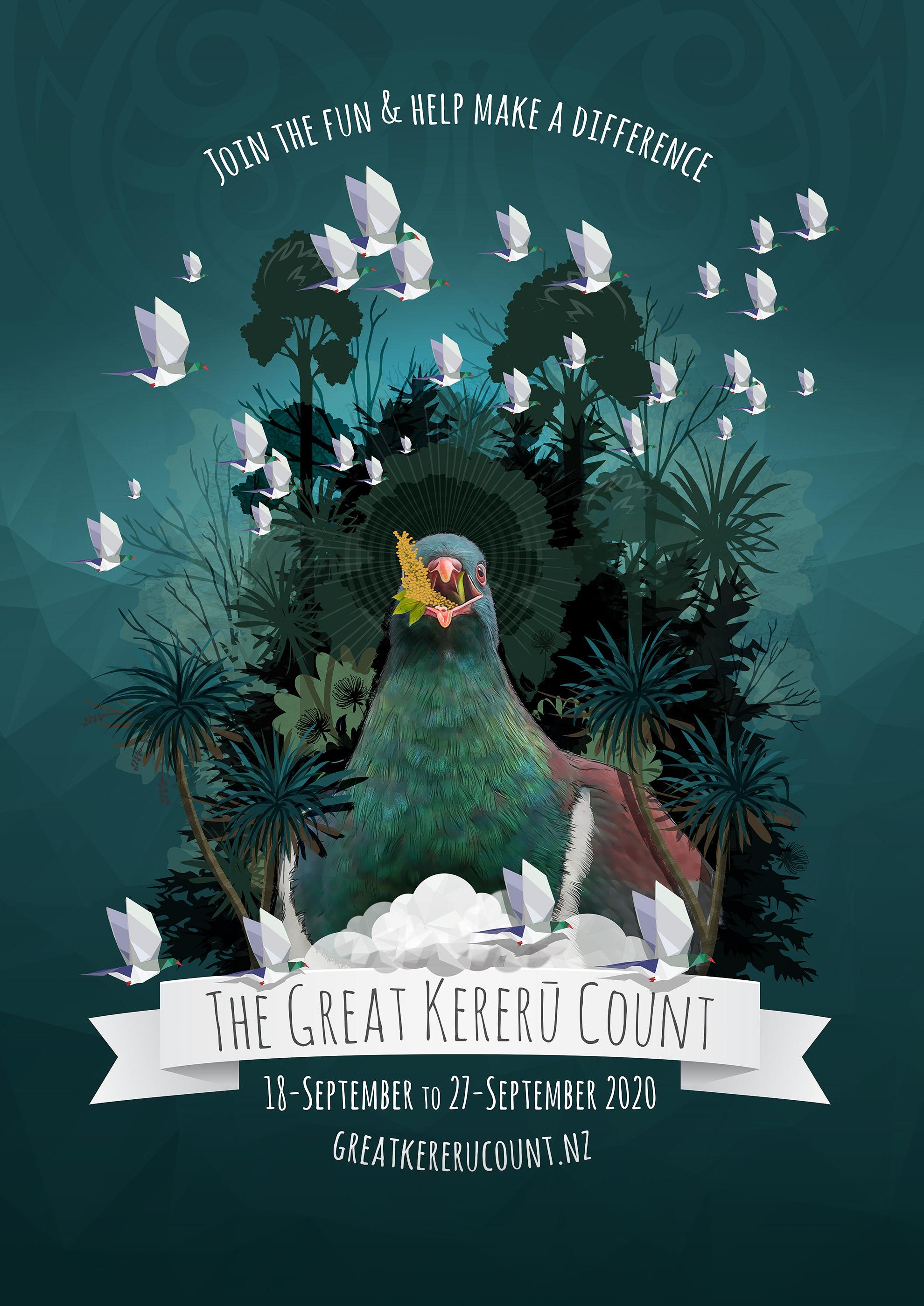 Great Kereru Count 2020